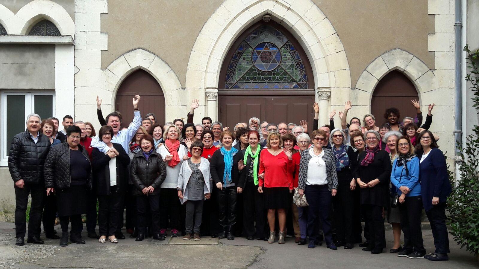Mini Rénania, Synagogue de Nantes, 18-19 mars 2017. Vous reconnaissez-vous?
